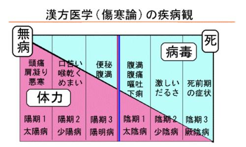 【No.258】かぜ等における病期のステージ分類と漢方薬について
